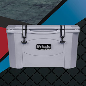 Win a Grizzly Cooler from Overkill Motorsports